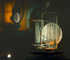 instalation Moholy Nagy using all senses