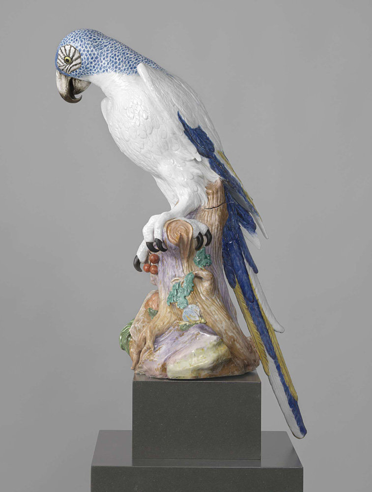 porcelain parrot. no purpose.