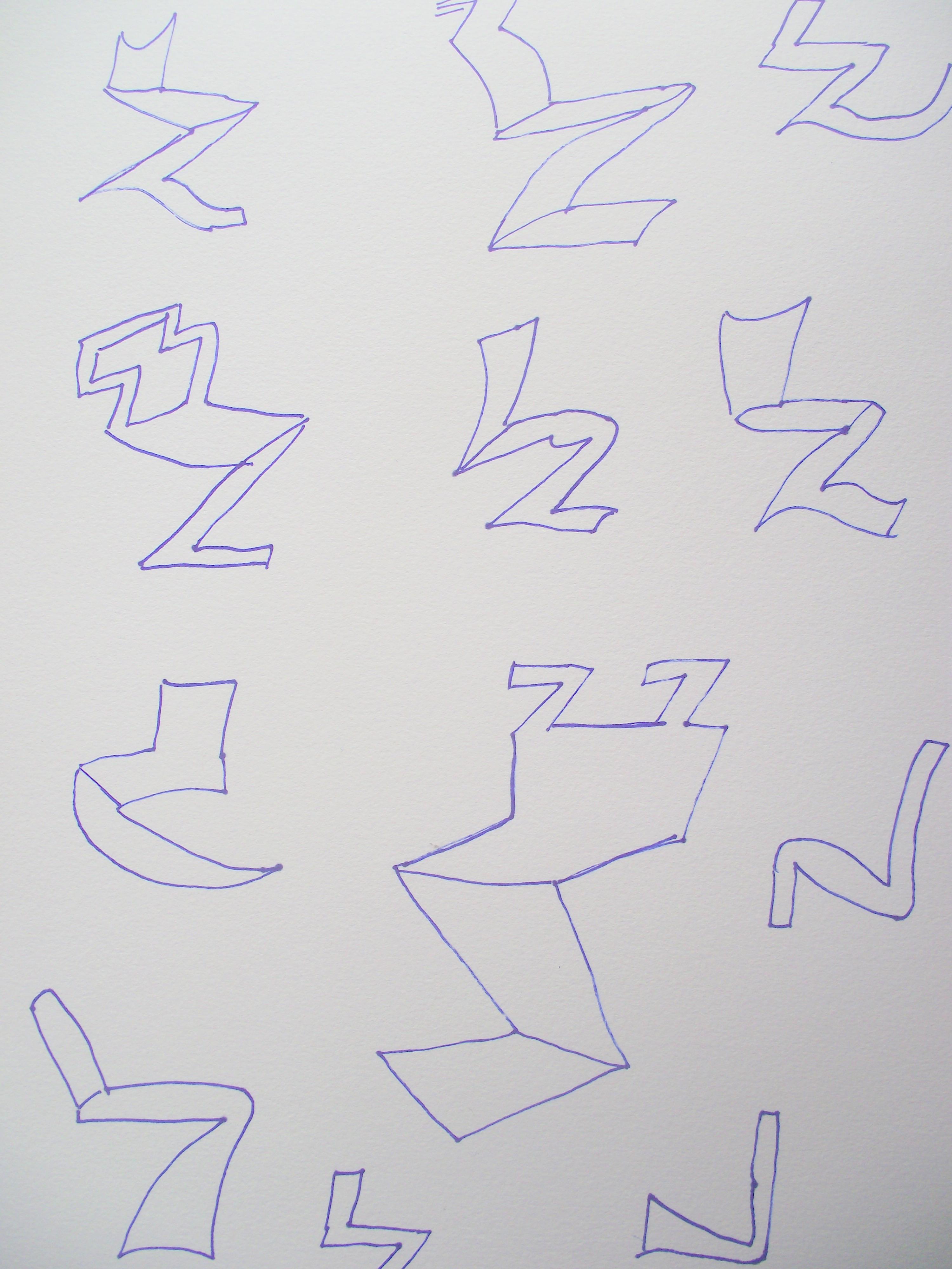 Zig zag stoel designblog for Design stuhl zig zag