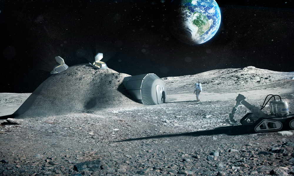 Foster+Partners, Lunar Base