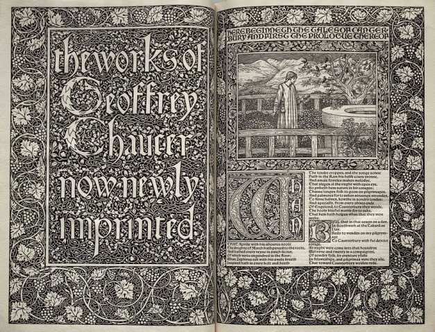 a book design by William Morris