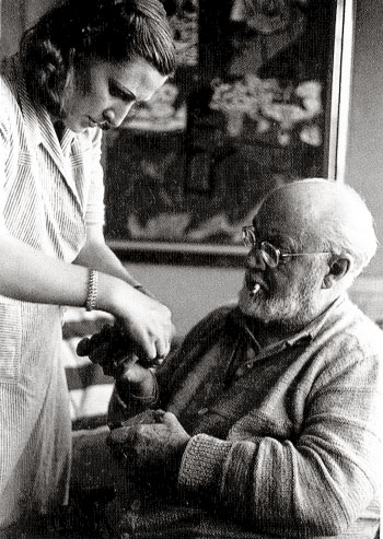 Matisse and Assistant