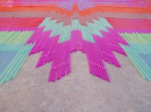 Straw Carpet, 2014