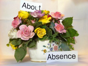 ABOUT ABSENCE