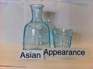 ASIAN APPEARANCE