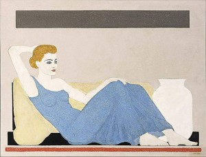A seated lady - 1932-1933