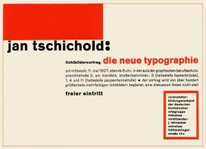 Die Neue Typografie
