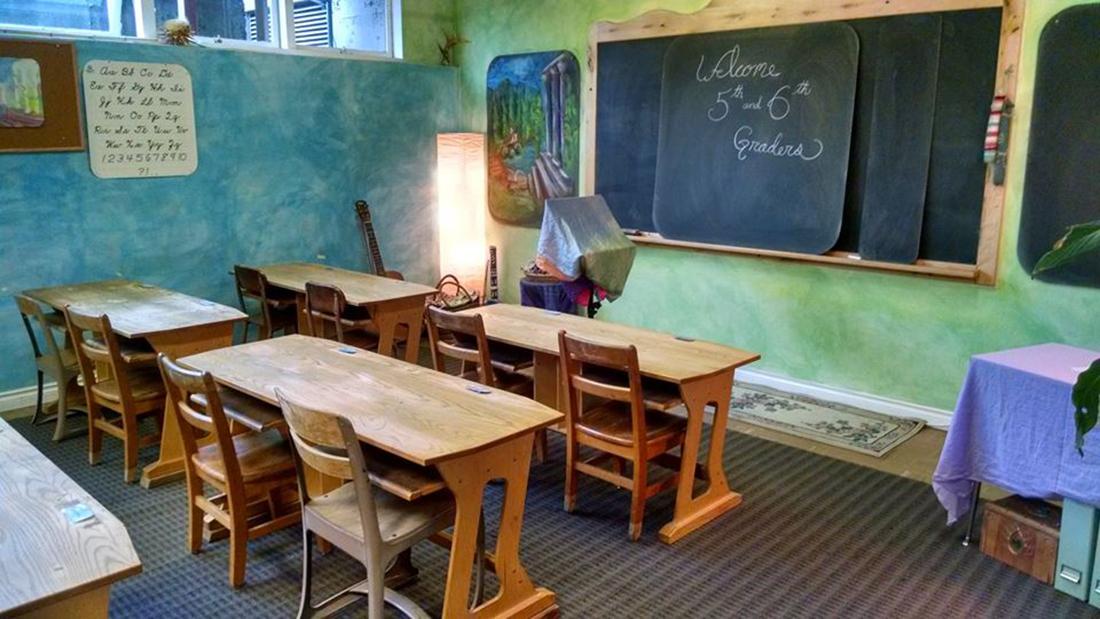 Steiner's Blue Classroom