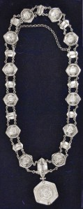 Mayors necklace - 1956