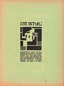 de Stijl magazine
