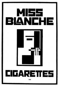 Miss Blanche Cigarettes, 1926