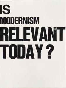 poster modernism