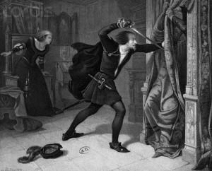Hamlet Kills Polonius