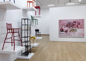 philip guston and clay furniture