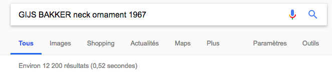 Number of results