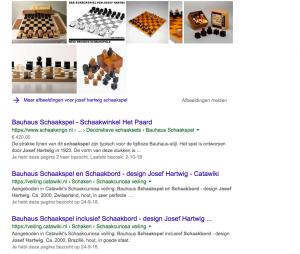 schaakspel Josef hartwig