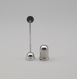 Christian Dell, tea infuser at MoMa