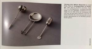 Metal tea objects