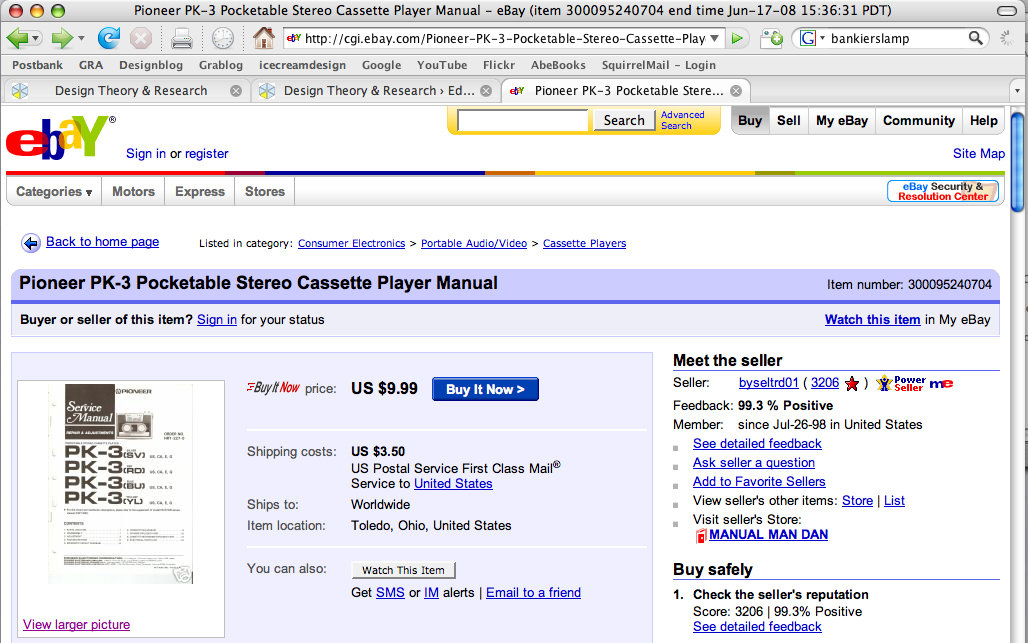 http://cgi.ebay.com/Pioneer-PK-3-Pocketable-Stereo-Cassette-Player-Manual_W0QQitemZ300095240704QQihZ020QQcategoryZ15053QQssPageNameZWDVWQQrdZ1QQcmdZViewItem