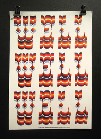 cover of the book Well Well Well containing his differents works, 2010