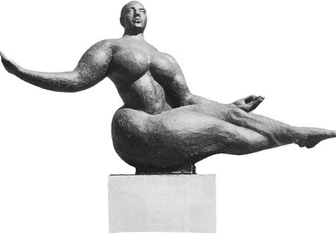 'Floating Figure' by Gaston Lachaise