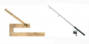 angler and fishingrod