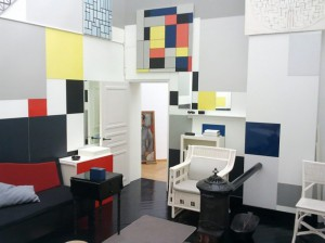 Mondrian's Studio