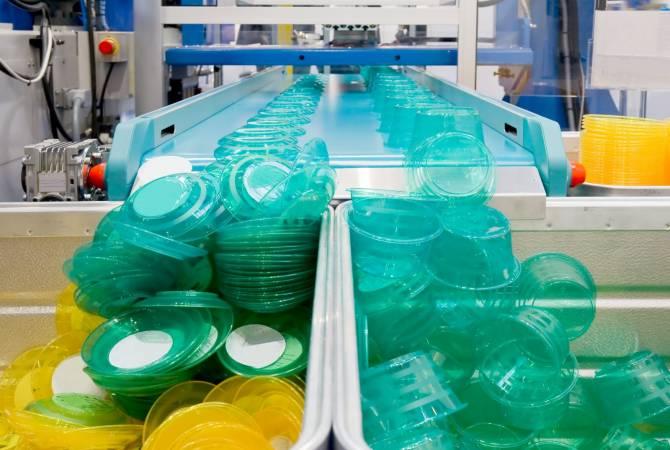 platsic fabriek