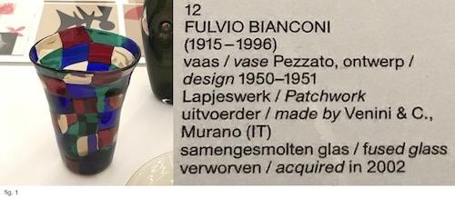 Pezzato Vase at Stedelijk Base